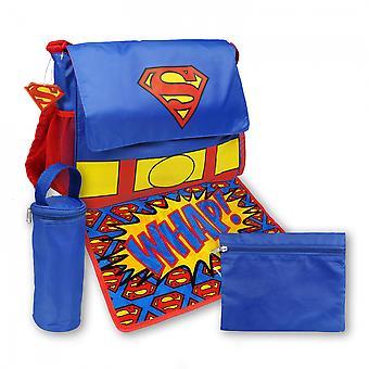 superman symbol 5-delt bleie bag sett
