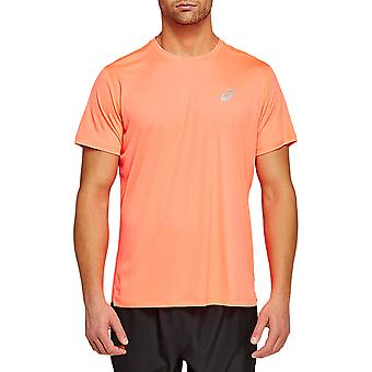 ASICS camiseta de running plateada - AW20
