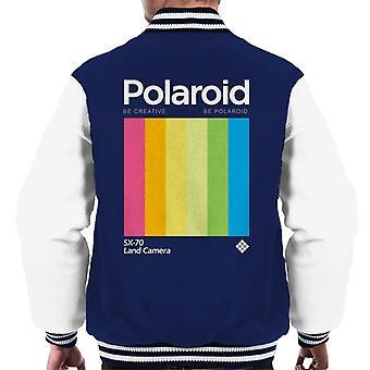 ポラロイドビークリエイティブビーポラロイドメン&アポス;sバリエーションジャケット