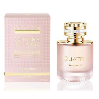 Boucheron Quatre En Rose Eau De Parfum Florale Spray 50ml