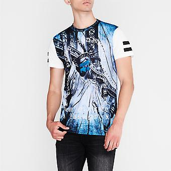 Fabric Mens Sub Tee Crew Neck T-Shirt T Shirt Top Short Sleeve Casual Tee