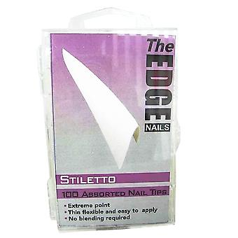The edge stiletto french tips 100 asstd