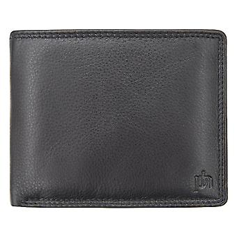 Primhide Mens Leather RFID Blocking Wallet Gents Notecase Card Holder 3894