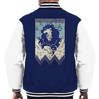 Blue Lions Fire Emblem Three Houses Men's Varsity Jacket