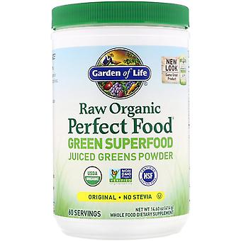 Garden of Life, RAW Organic Perfect Food, Green Superfood, Original, 14.60 oz (4