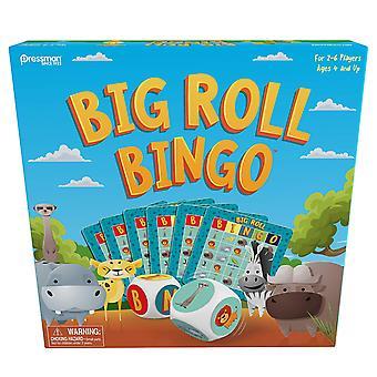 Games - Pressman Toy - Big Roll Bingo: Safari New 108604
