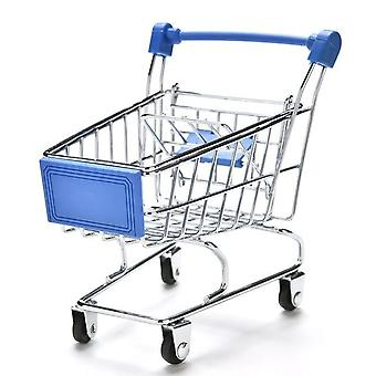 New Colorful Pet Bird Parrot Hamster Mini Supermarket Shopping Cart Trolley
