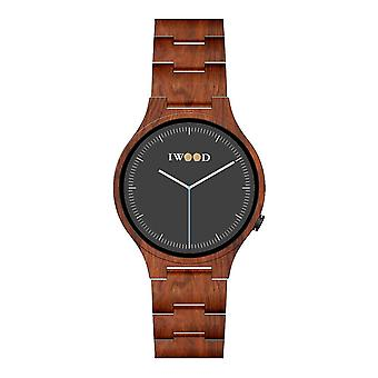 Iwood Real Wood Homme's Watch IW18441002