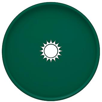 Kasualware 14 pouces Rond Portion Tray Green Sunshine