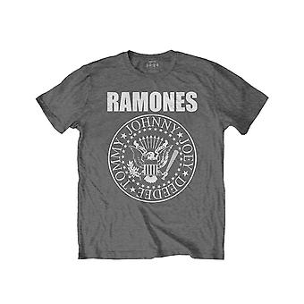 Ramones Kids T Shirt Presidential Seal new Official Charcoal Grey (Ages 3-14yrs)