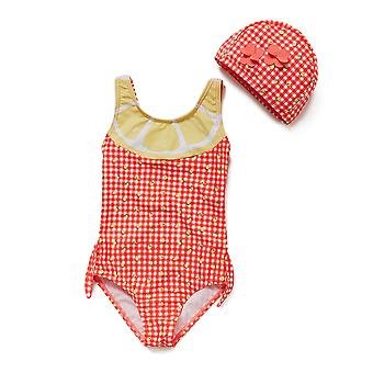 Bonverano Baby Girls Sunsuit UPF 50+ Cutout Back Swimsuit Lined Tankini