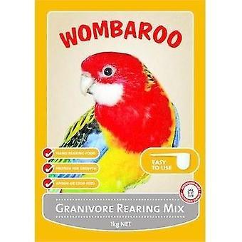 Wombaroo Granivore criação Mix 1kg