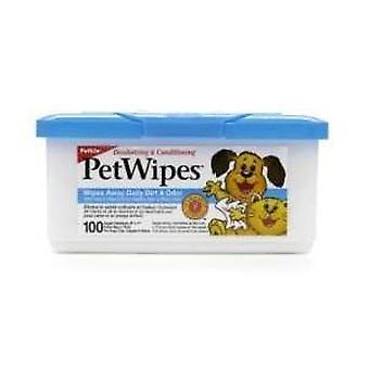 Pyyhkeet hellitellä Pkt 100 (Petkin)