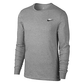 Nike M Tee LS Embrd Futura AQ7141063 universal all year men t-shirt