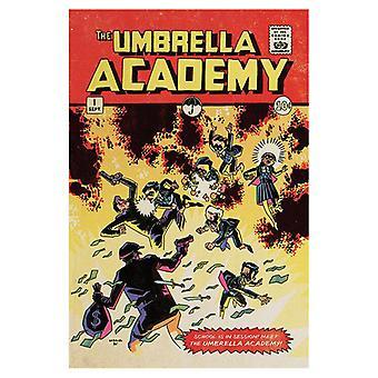 The Umbrella Academy, Maxi Poster - En session