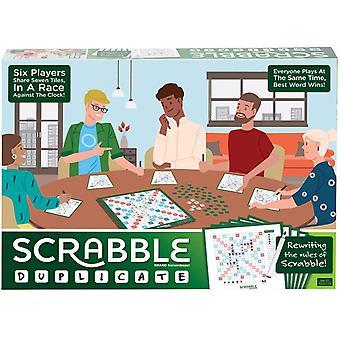 Mattel Scrabble duplicera spel