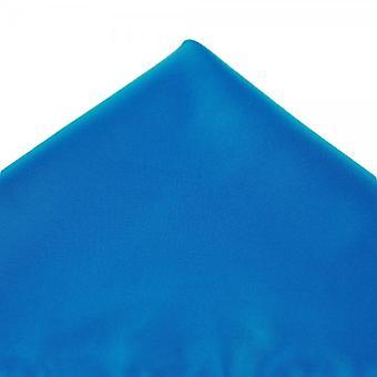 Ties Planet Plain Zafír Kék Pocket Square zsebkendő