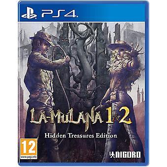 LA-Mulana 1 en 2 Hidden Treasures Edition PS4-game