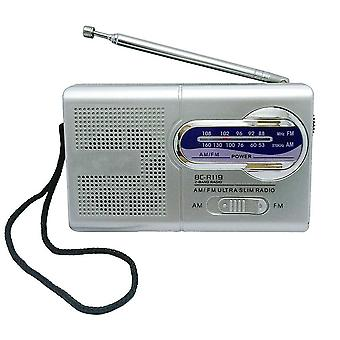 Universal Pocket Radio, Teleskooppiantenni Mini Am/fm 2-kaistainen Radio World