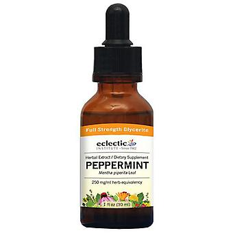 Eclectic Institute Inc Peppermint, 1 Oz Alcohol free