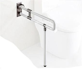 Toilet Safety Rails Stainless Steel Anti-skid Folding Toilet- Bathroom Safety Rail