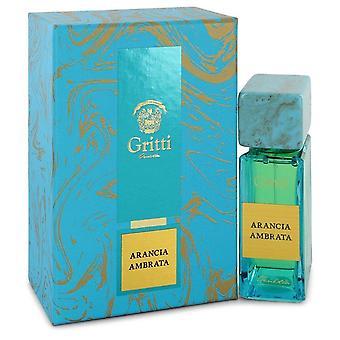 Arancia ambrata eau de parfum spray (unisex) by gritti 543712 100 ml