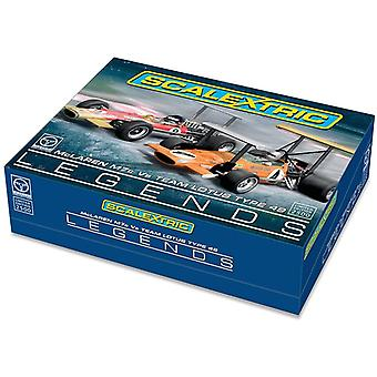 Scalextric 1:32 GP Leggende McLaren M7 Vs Team Lotus Tipo 49 Set
