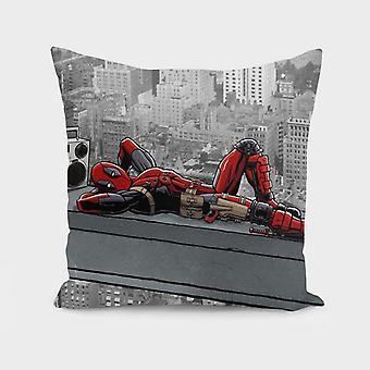 Degenerate Regenerates Spide-man Print  - Pillow Cover