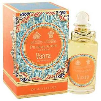 Vaara by Penhaligon n Eau de Parfum Spray (Unisex) 3,4 oz (miehet) V728-515005