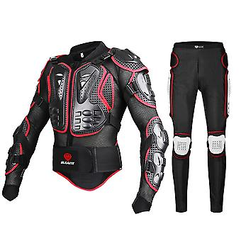 Motorcycle racing body armor protector gear