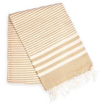 Durable And Super Soft Striped Towel