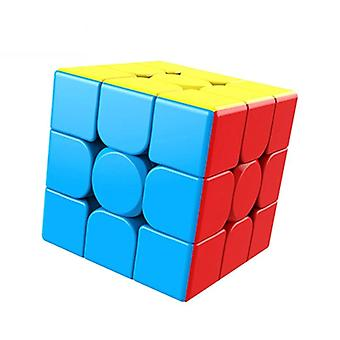 Magic Stickerless Cube Puzzle, Professional Speed Educational For Students
