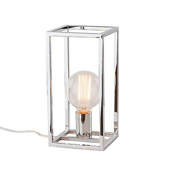 Italux Sigalo - Industriel og retro bordlampe Chrome 1 Lys , E27