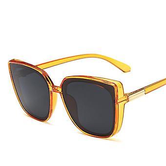 Vysoce kvalitní retro náměstí luxusní brýle / muži