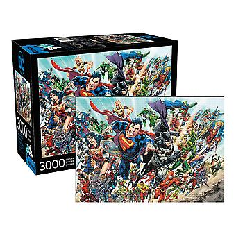 Dc benzi desenate exprimate puzzle 3000pc