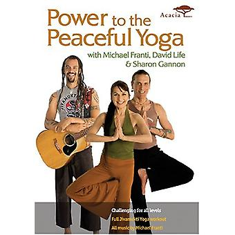 Power of the Peaceful Yoga [DVD] USA import