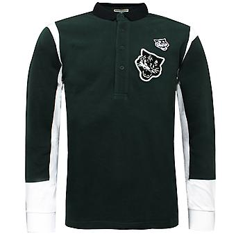 Asics Onitsuka Tiger Long Sleeve Polo Shirt T-Shirt Casual Top OK353G 0084