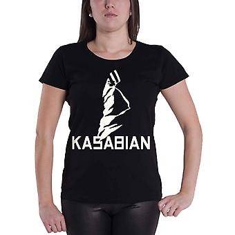 Kasabian T Shirt Ultra Face Official Womens New Black Skinny Fit