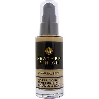 Lentheric Feather Finish Matte Touch Moisturising Foundation 30ml - Natural Beige 03