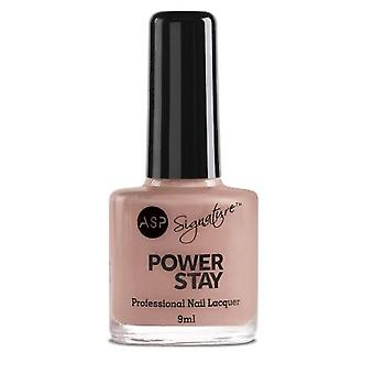 ASP Power Stay Professional Nail Lacquer - Clay