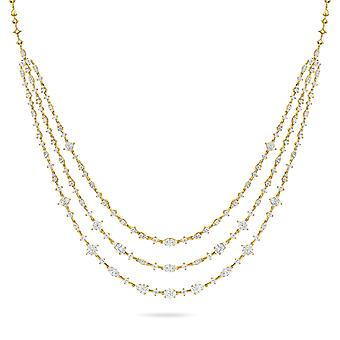 Necklace Melody 18K Gold and Diamonds - Yellow Gold