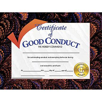 """Certificate Of Good Conduct, Pack Of 30, 8.5"""" X 11"""""""
