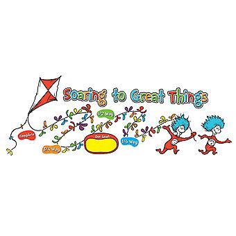 Conjunto de Tablones de Fijación de Objetivos del Dr. Seuss
