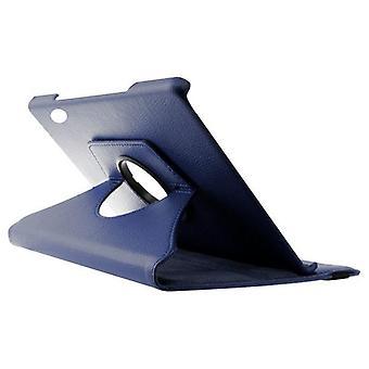 Case 360º Huawei T5 10.1& Kunstleer Blauw