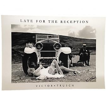 Victor Trusch Late For The Reception Print