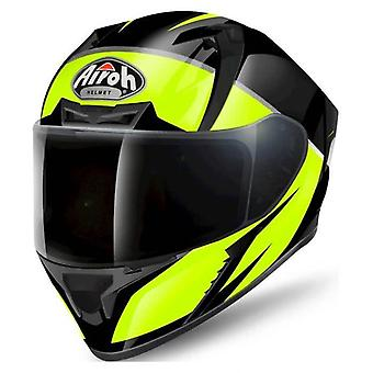 Airoh Valor Full Face Helm-Eclipse Gelb Glanz