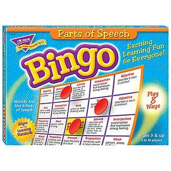 Parti del gioco di bingo vocale