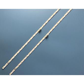 """הוביל רצועת תאורה אחורית 28 מנורה עבור סמסונג 43""""טלוויזיה Ue43nu7100"""