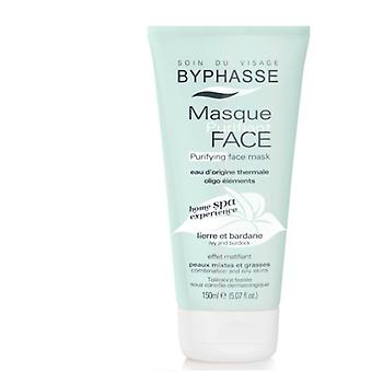Byphasse Home spa experience purifying face mask 150ml green