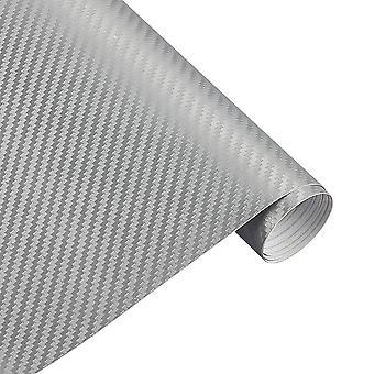 30cmx127cm 3d Carbon Fiber Vinyl Car Wrap Sheet Roll/film Car Stickers And